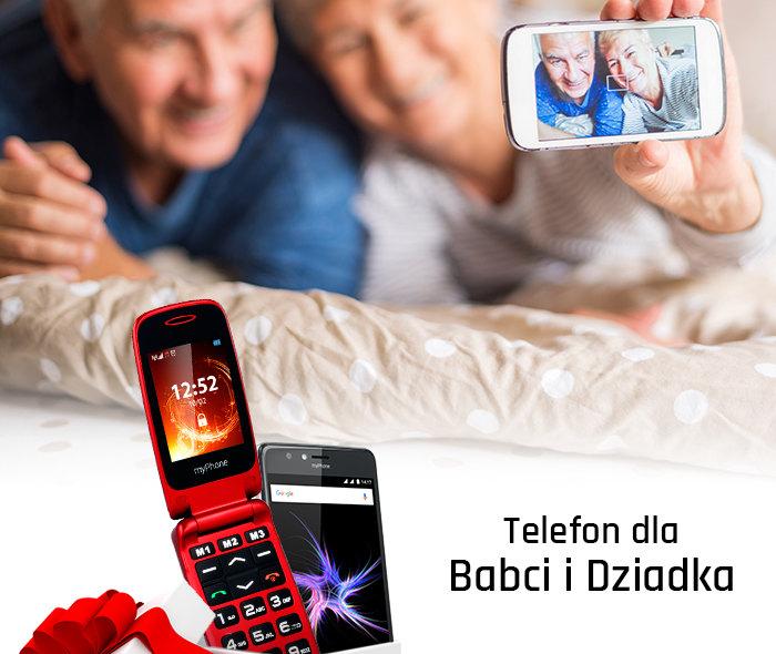 Telefon dla seniora na Dzień Babci i Dziadka