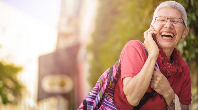 Komórka dla seniora i emeryta