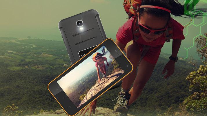 Smartfon dla aktywnej kobiety - HAMMER Active