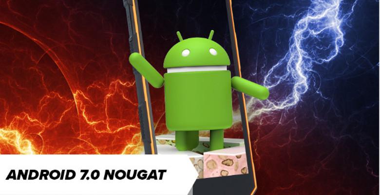 aktualizacja do Android 7.0 w HAMMER Energy