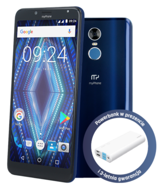myPhone Prime 18×9 3G z prezentem