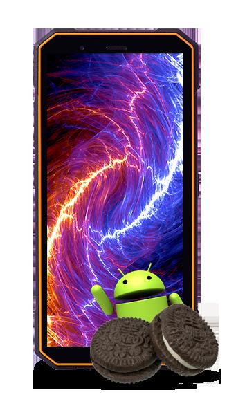 odporny na upadki telefon z Androidem 8.1