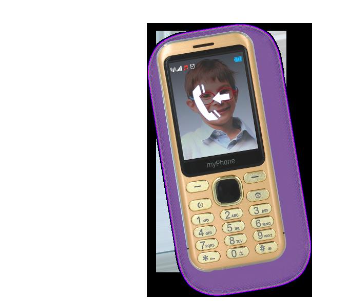 myPhone Maestro - bateria o dużej pojemności