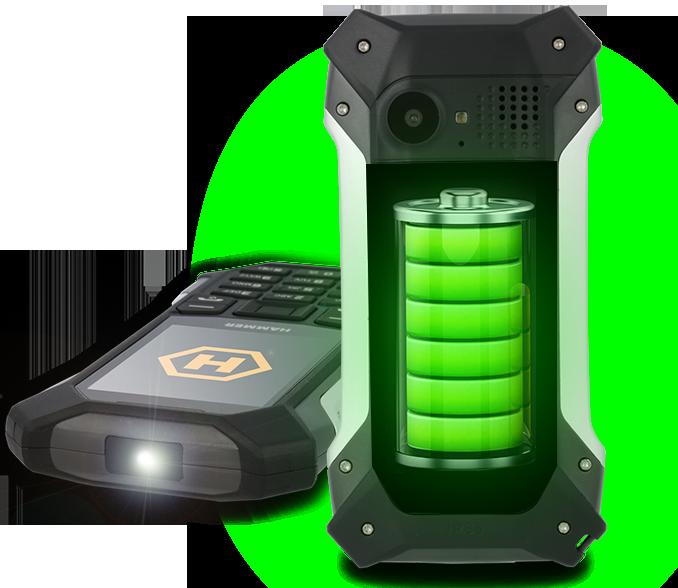 bateria o dużej pojemności