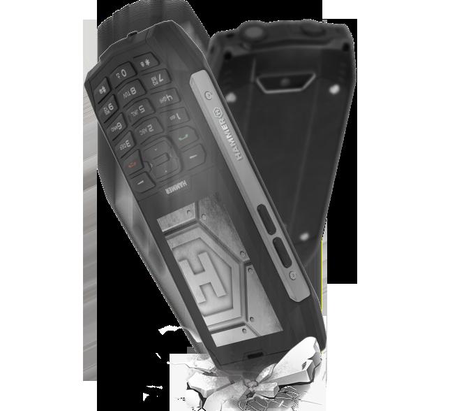 telefon odporny na upadki