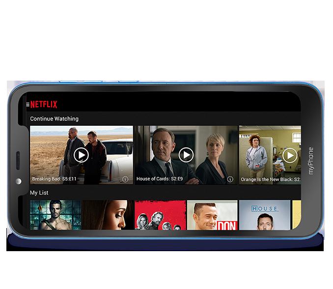 smartfon z dużym ekranem