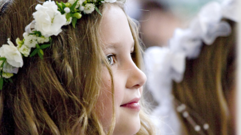 First Communion – portrait