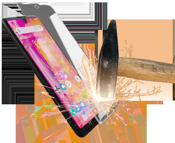 Szkło hartowane do smartfonów myPhone