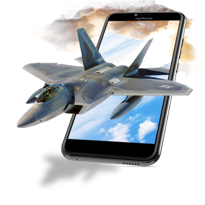 Czarujący smartfon Full Screen 18×9 IPS