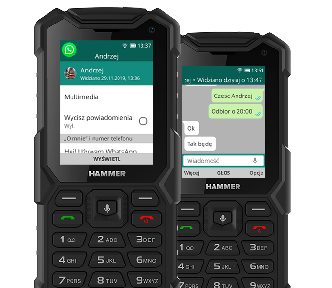 system KaiOS - Funkcje smartfonu