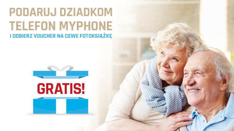 Promocja: podaruj dziadkom telefon i odbierz voucher