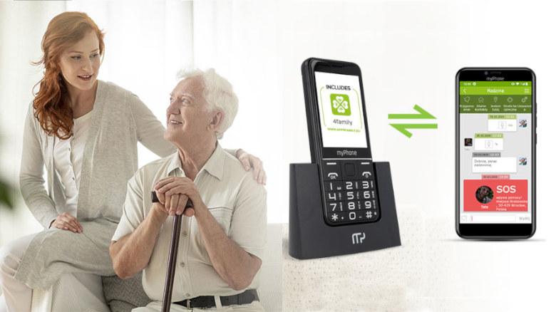 Aplikacja 4family do opieki nad bliskimi