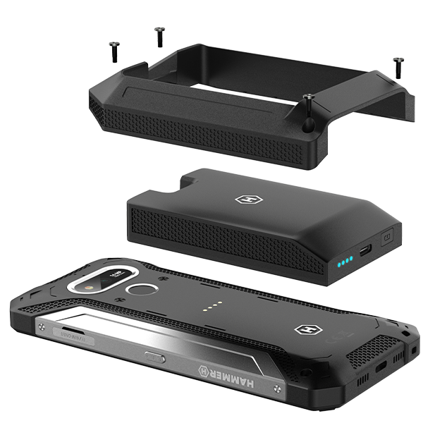 HAMMER Explorer external battery with powerbank function